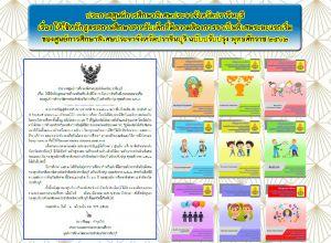 หลักสูตรสถานศึกษาสาหรับเด็กที่มีความต้องการจาเป็นพิเศษระยะแรกเริ่ม  ของศูนย์การศึกษาพิเศษประจาจังหวัดปราจีนบุรี ฉบับปรับปรุง พุทธศักราช๒๕๖๒